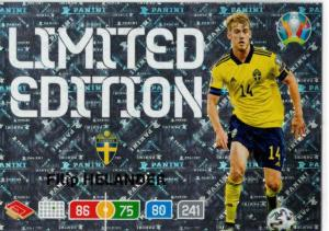 Adrenalyn Euro 2020 - Filip Helander (Sweden) - Limited Edition