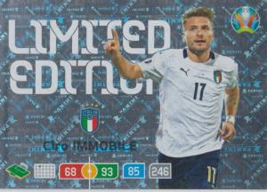 Adrenalyn Euro 2020 - Ciro Immobile (Italy) - Limited Edition