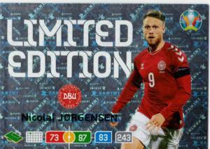 Adrenalyn Euro 2020 - Nicolai Jørgensen / Nicolai Jorgensen (Denmark) - Limited Edition