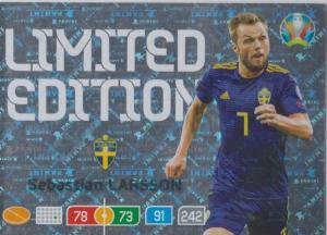 Adrenalyn Euro 2020 - Sebastian Larsson (Sweden) - Limited Edition
