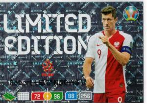 Adrenalyn Euro 2020 - Robert Lewandowski (Poland) - Limited Edition
