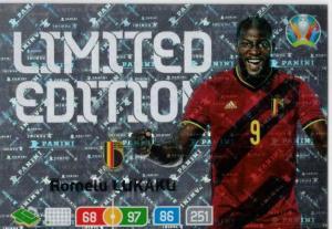 Adrenalyn Euro 2020 - Romelu Lukaku (Belgium) - Limited Edition