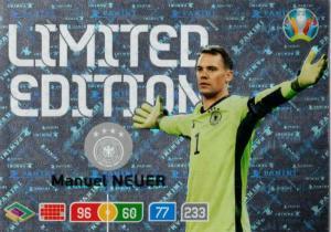 Adrenalyn Euro 2020 - Manuel Neuer (Germany) - Limited Edition
