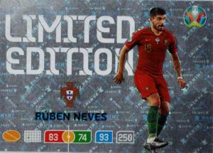 Adrenalyn Euro 2020 - Rúben Neves (Portugal) - Limited Edition
