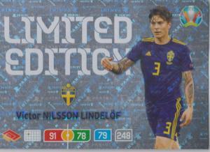 Adrenalyn Euro 2020 - Victor Nilsson Lindelöf (Sweden) - Limited Edition