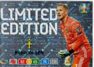 Adrenalyn Euro 2020 - Robin Olsen (Sweden) - Limited Edition