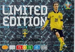 Adrenalyn Euro 2020 - Kristoffer Olsson (Sweden) - Limited Edition