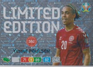 Adrenalyn Euro 2020 - Yussuf Poulsen (Denmark) - Limited Edition