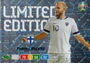 Adrenalyn Euro 2020 - Teemu Pukki (Finland) - Limited Edition