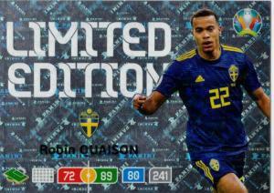 Adrenalyn Euro 2020 - Robin Quaison (Sweden) - Limited Edition