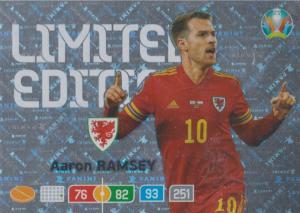Adrenalyn Euro 2020 - Aaron Ramsey (Wales) - Limited Edition