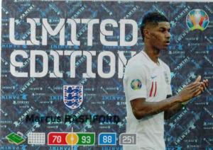 Adrenalyn Euro 2020 - Marcus Rashford (England) - Limited Edition
