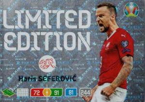 Adrenalyn Euro 2020 - Haris Seferovic (Switzerland) - Limited Edition