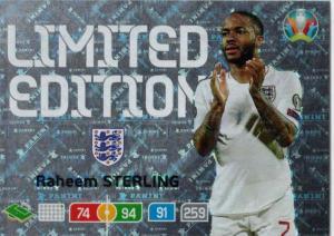 Adrenalyn Euro 2020 - Raheem Sterling (England) - Limited Edition