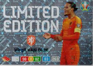 Adrenalyn Euro 2020 - Virgil van Dijk (Netherlands) - Limited Edition
