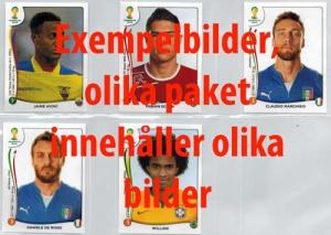 Starter Pack (hard cover), Panini Stickers World Cup 2014 (White boarder)