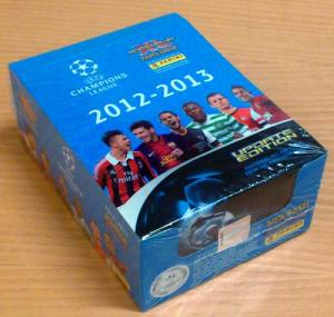 1 Låda (50 Pack) Panini Adrenalyn XL Champions League Update 2012-13