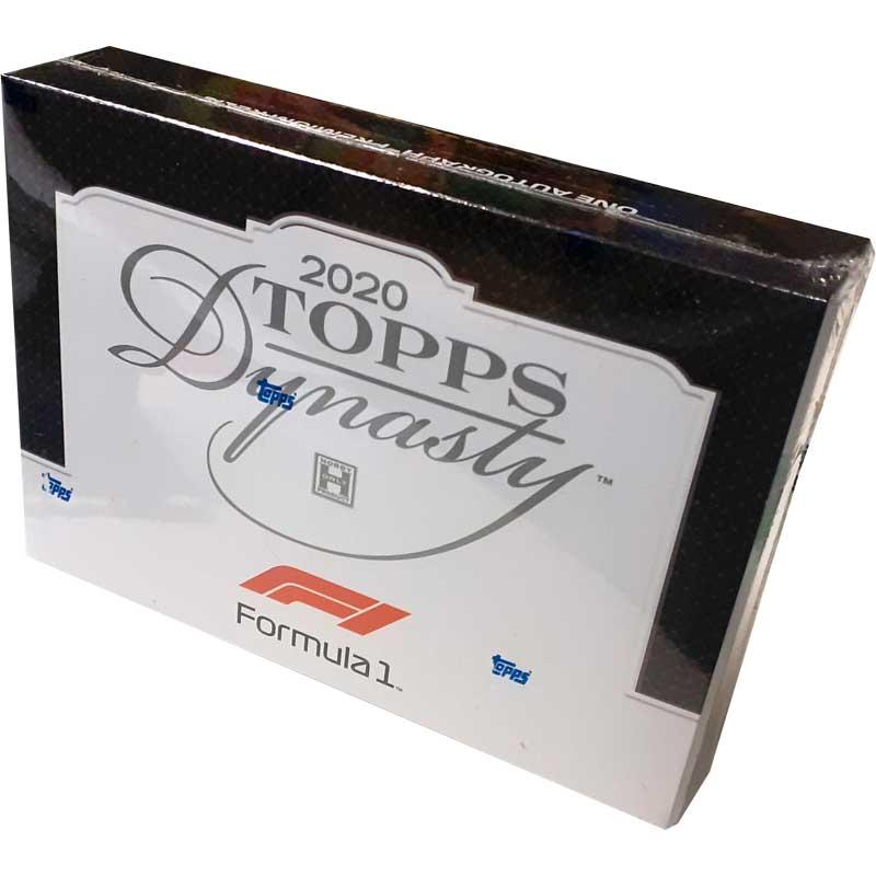 Sealed Box 2020 Topps Dynasty Formula 1 (1 card per box)