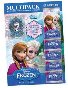 Multipack, Frozen / Frost activity cards