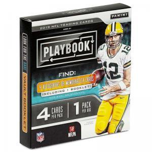 Sealed Box 2019 Panini Playbook Football