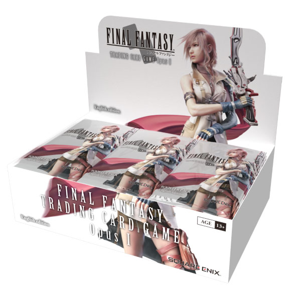 Booster Box, Final Fantasy TCG, Opus I