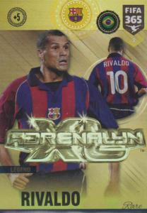 Adrenalyn XL FIFA 365 2019 - 002 Rivaldo (FC Barcelona) AXL Legend