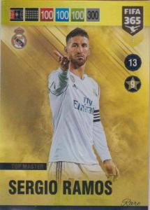 Adrenalyn XL FIFA 365 2019 - 007 Sergio Ramos (Real Madrid CF) Top Master