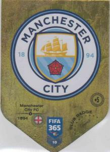 Adrenalyn XL FIFA 365 2019 - 010  Club Badge (Manchester City FC) Club Badge