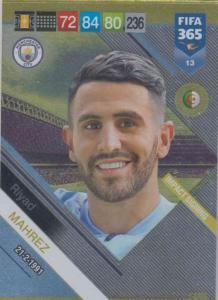 Adrenalyn XL FIFA 365 2019 - 013  Riyad Mahrez (Manchester City FC) Impact Signing