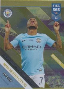 Adrenalyn XL FIFA 365 2019 - 014  Manchester City FC Longest Winning Streak 18 League Matches (Manchester City FC) Milestone