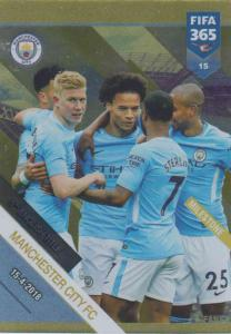 Adrenalyn XL FIFA 365 2019 - 015  Manchester City FC 5th English Title (Manchester City FC) Milestone