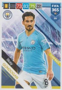 Adrenalyn XL FIFA 365 2019 - 020  İlkay Gündogan (Manchester City FC) Team Mate