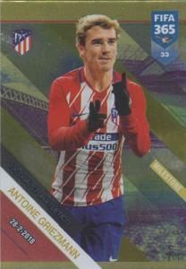 Adrenalyn XL FIFA 365 2019 - 033  Antoine Griezmann 100 Goals for Atletico (Atlético de Madrid) Milestone
