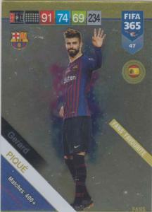Adrenalyn XL FIFA 365 2019 - 047  Gerard Piqué (FC Barcelona) Fans' Favourite