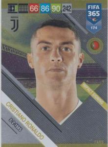 Adrenalyn XL FIFA 365 2019 - 174  Cristiano Ronaldo (Juventus) Impact Signing