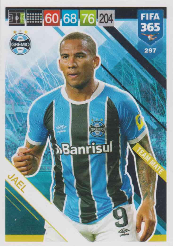 Team Mate Fifa 365 Cards 2019-297 Jael