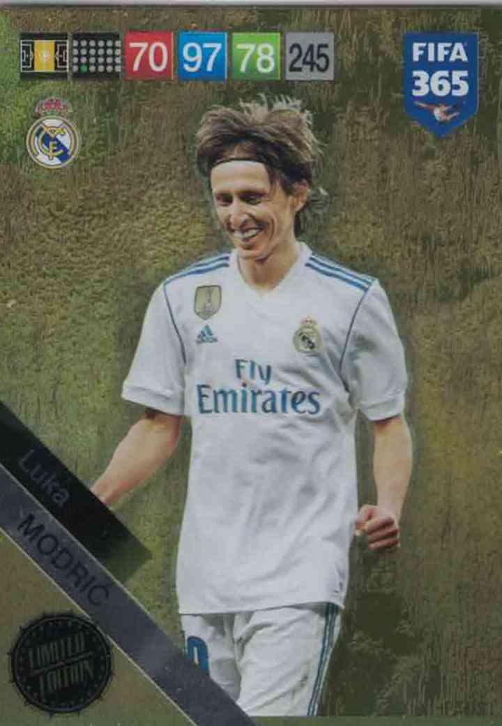 fd4b445b3 Luka Modrić (Real Madrid CF) XXL Limited Edition