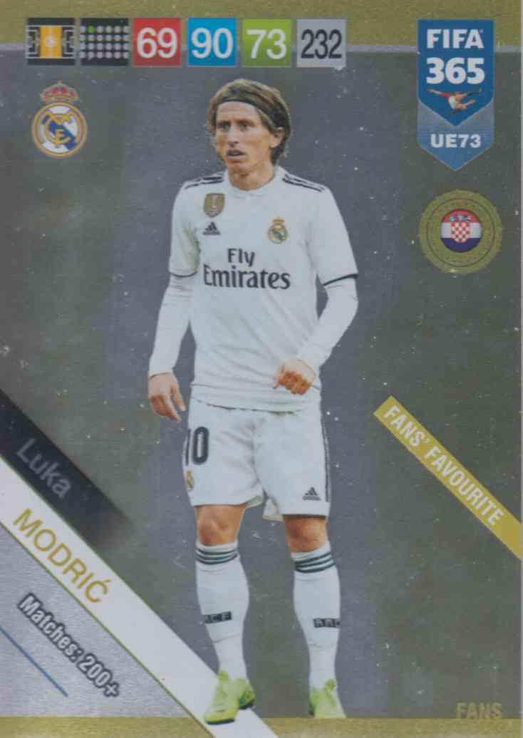 a1b680cdff8 Adrenalyn XL FIFA 365 2019 UPDATE #073 Luka Modrić (Real ...
