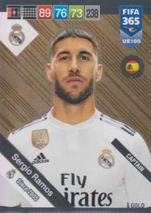 Real Madrid CF Fifa 365 Cards 2018-122 Sergio Ramos Fans