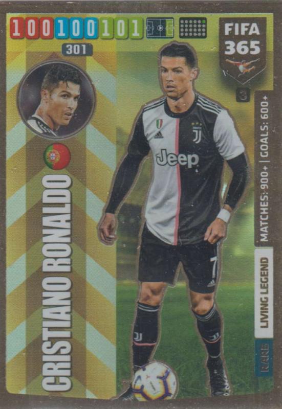 Adrenalyn XL FIFA 365 2020 - 003 Cristiano Ronaldo  - Juventus - Living Legend