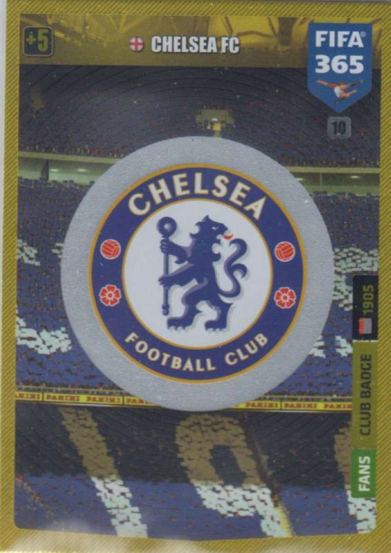 Adrenalyn XL FIFA 365 2020 - 010 Club Badge  - Chelsea - Club Badge