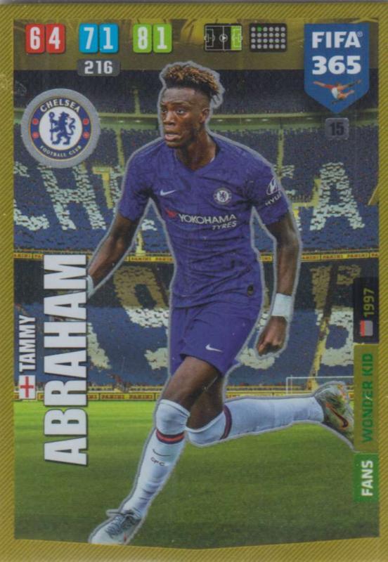 Adrenalyn XL FIFA 365 2020 - 015 Tammy Abraham  - Chelsea - Wonder Kid