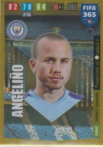 Adrenalyn XL FIFA 365 2020 - 050 Angeliño  - Manchester City - Impact Signing