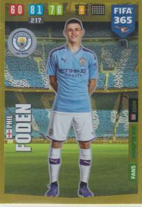 Adrenalyn XL FIFA 365 2020 - 051 Phil Foden  - Manchester City - Wonder Kid