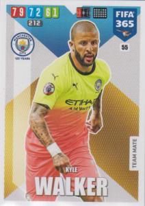 Adrenalyn XL FIFA 365 2020 - 055 Kyle Walker  - Manchester City - Team Mate