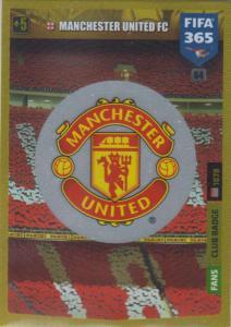 Adrenalyn XL FIFA 365 2020 - 064 Club Badge  - Manchester United - Club Badge