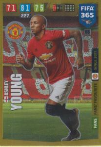 Adrenalyn XL FIFA 365 2020 - 066 Ashley Young  - Manchester United - Fans' Favourite