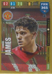 Adrenalyn XL FIFA 365 2020 - 067 Daniel James  - Manchester United - Impact Signing