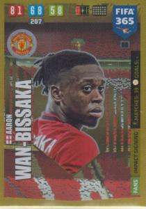 Adrenalyn XL FIFA 365 2020 - 068 Aaron Wan-Bissaka  - Manchester United - Impact Signing