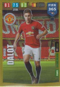 Adrenalyn XL FIFA 365 2020 - 069 Diogo Dalot  - Manchester United - Wonder Kid